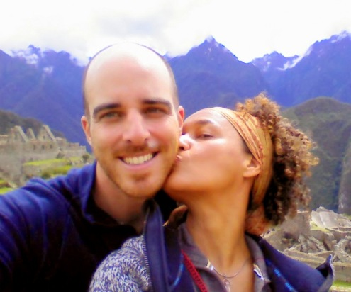 Coby and me at Machu Picchu